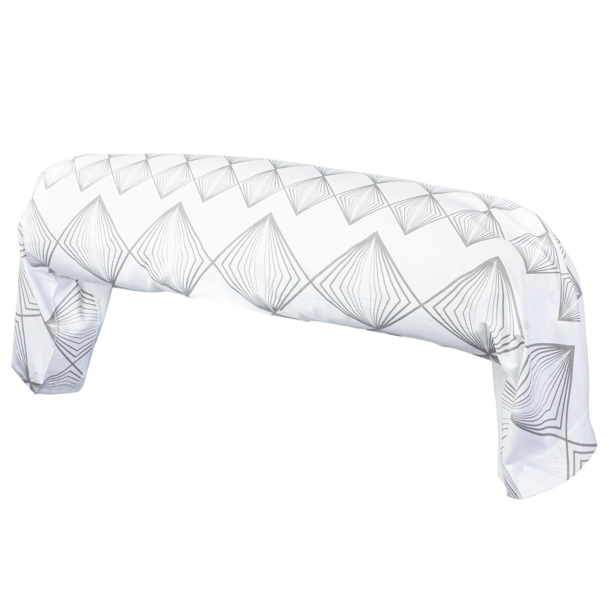 Linnea Taie de traversin 200x43 cm 100% coton FOREVER