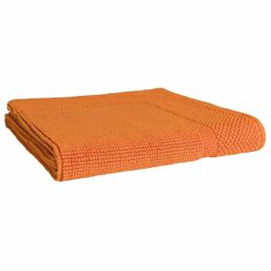Linnea Tapis de bain 50x80 cm LOFTY orange Butane 1500 g/m2 - Publicité