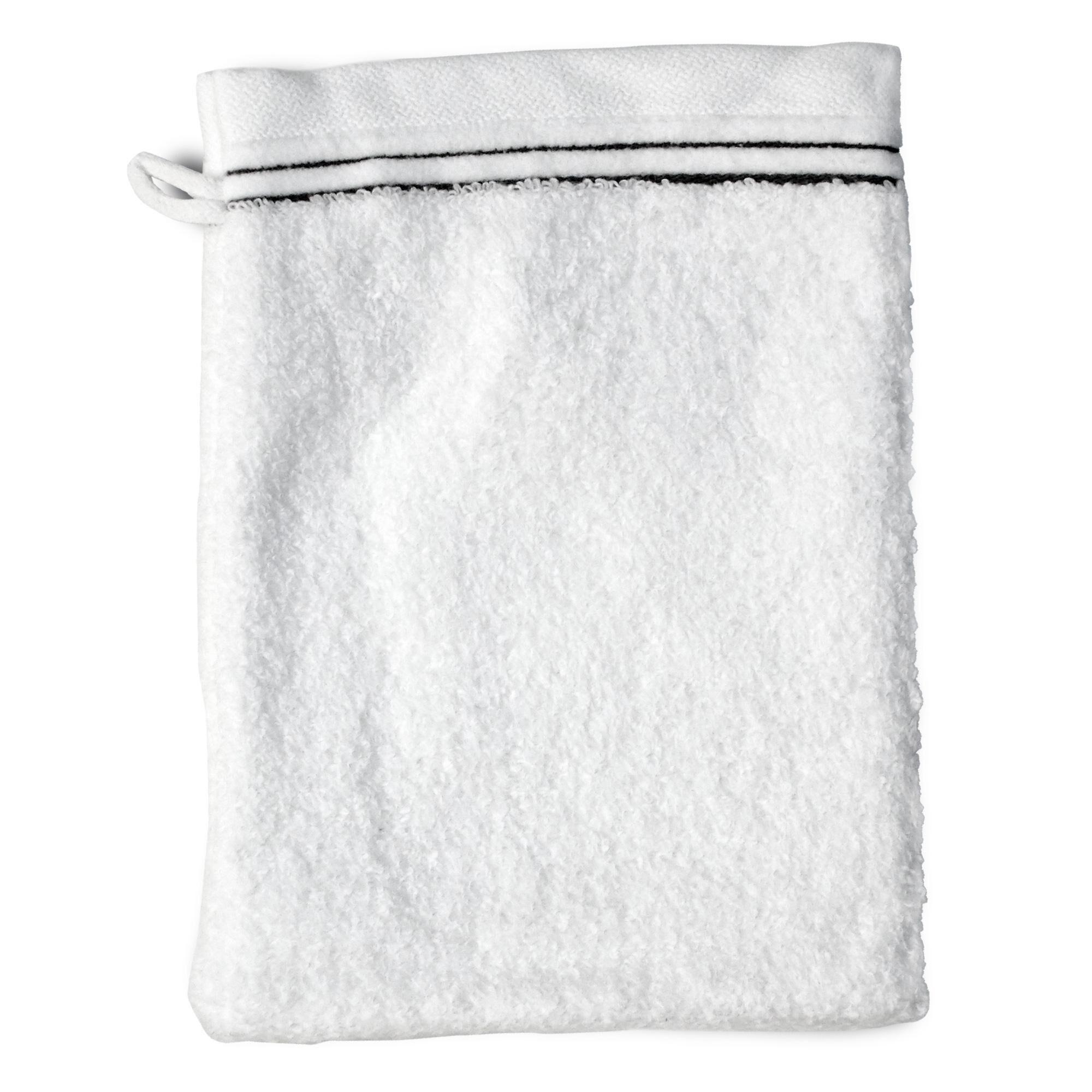 Linnea Gant de toilette 16x21 cm JULIET Blanc 520 g/m2