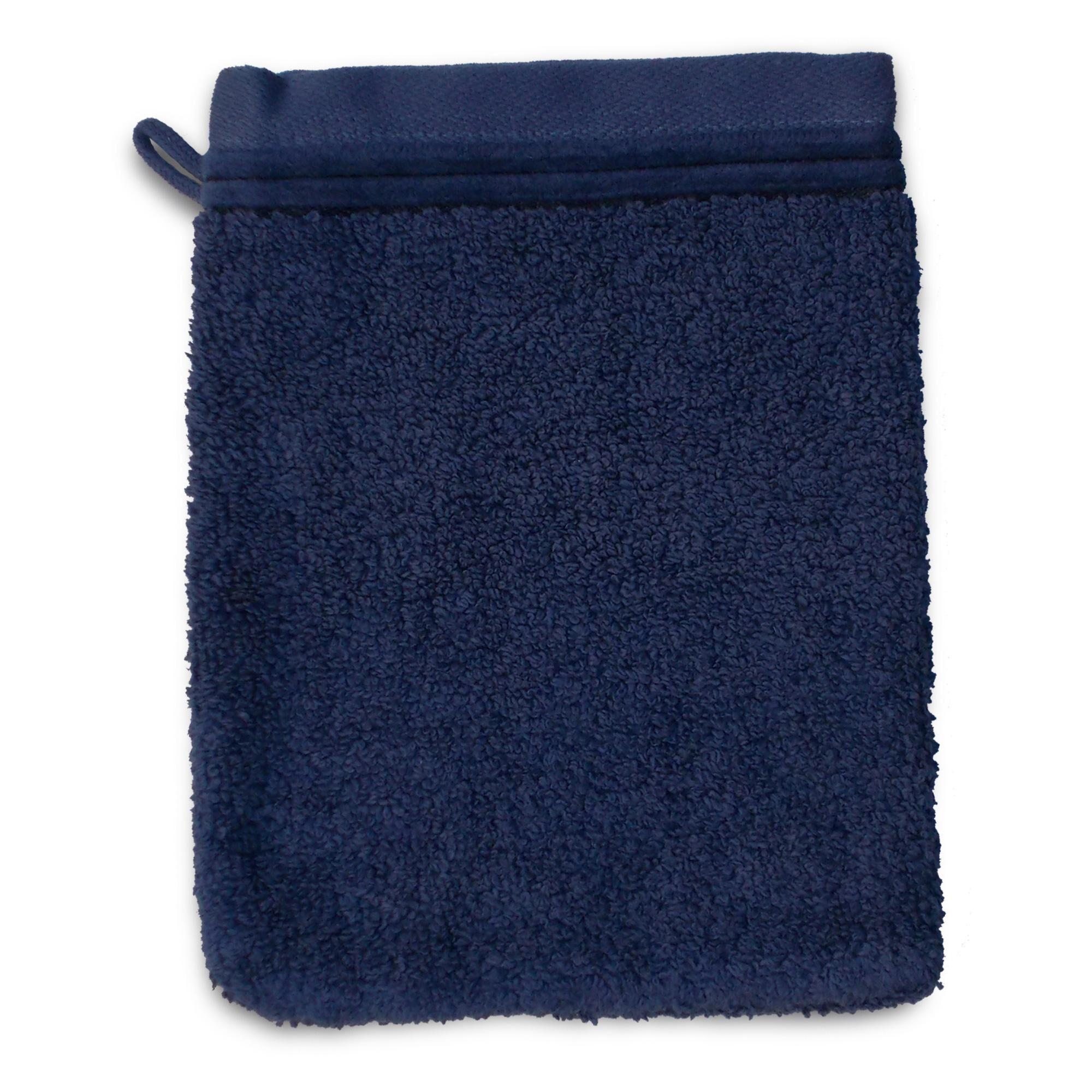 Linnea Gant de toilette 16x21 cm JULIET Bleu 520 g/m2