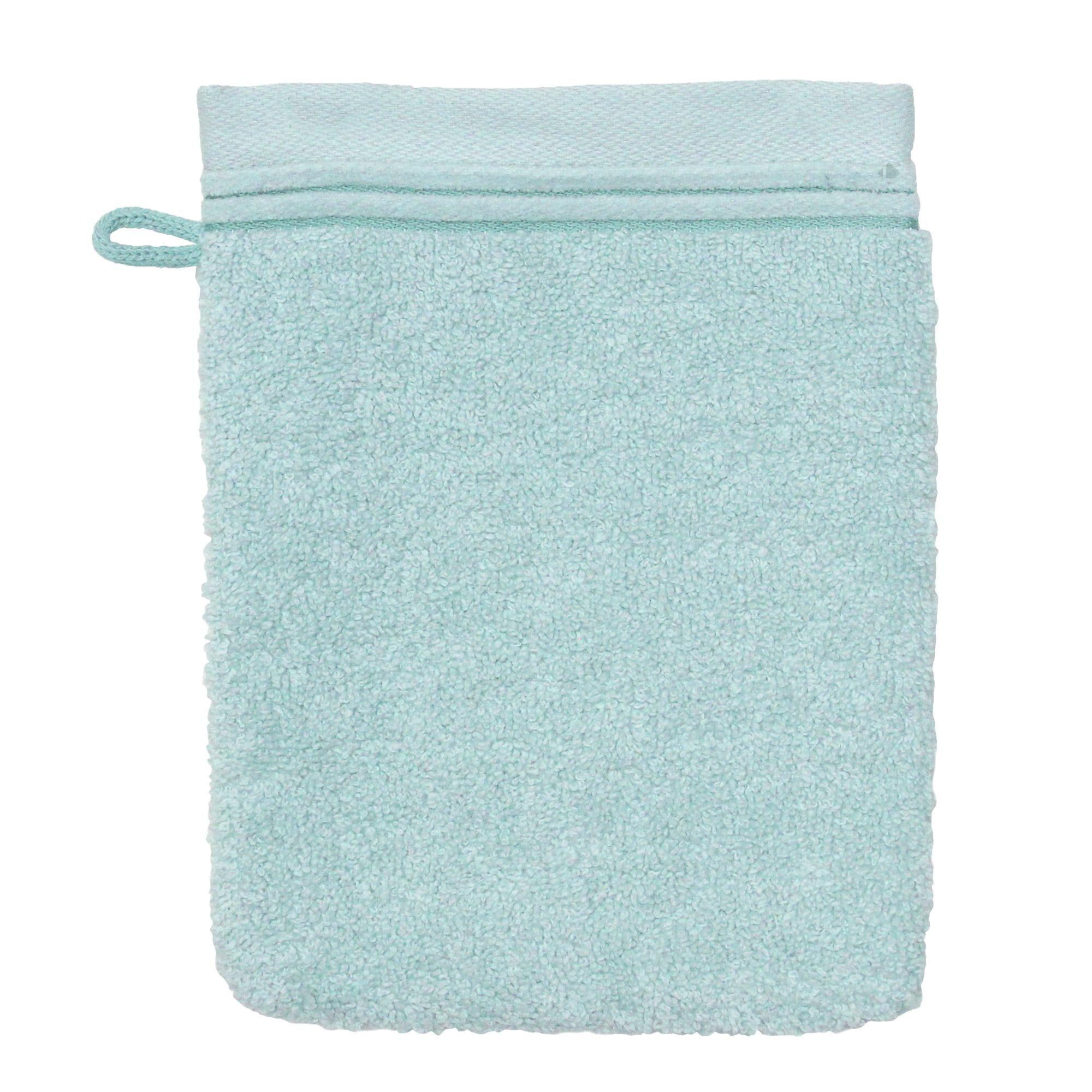 Linnea Gant de toilette 16x21 cm JULIET Bleu pâle 520 g/m2