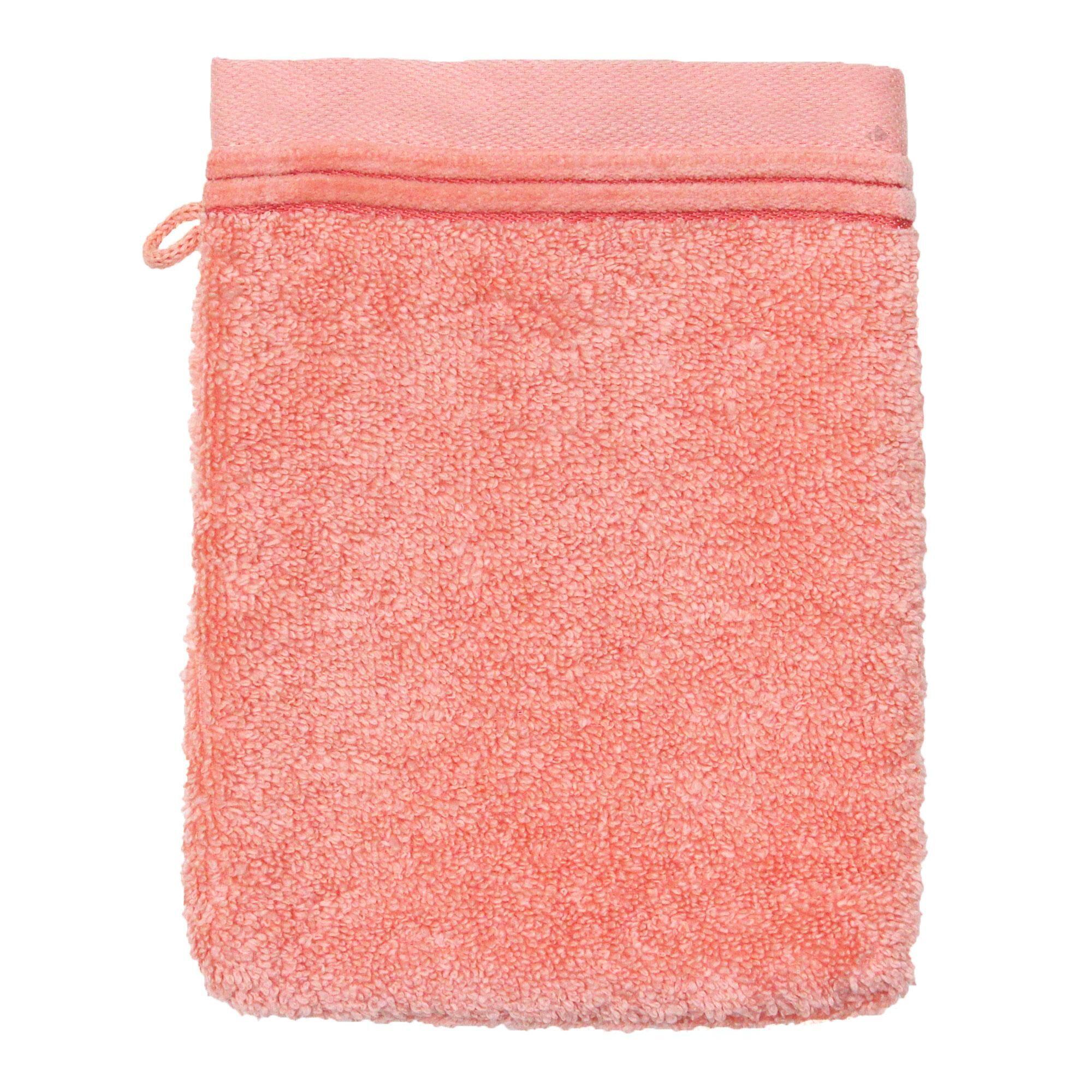 Linnea Gant de toilette 16x21 cm JULIET Rose bonbon 520 g/m2