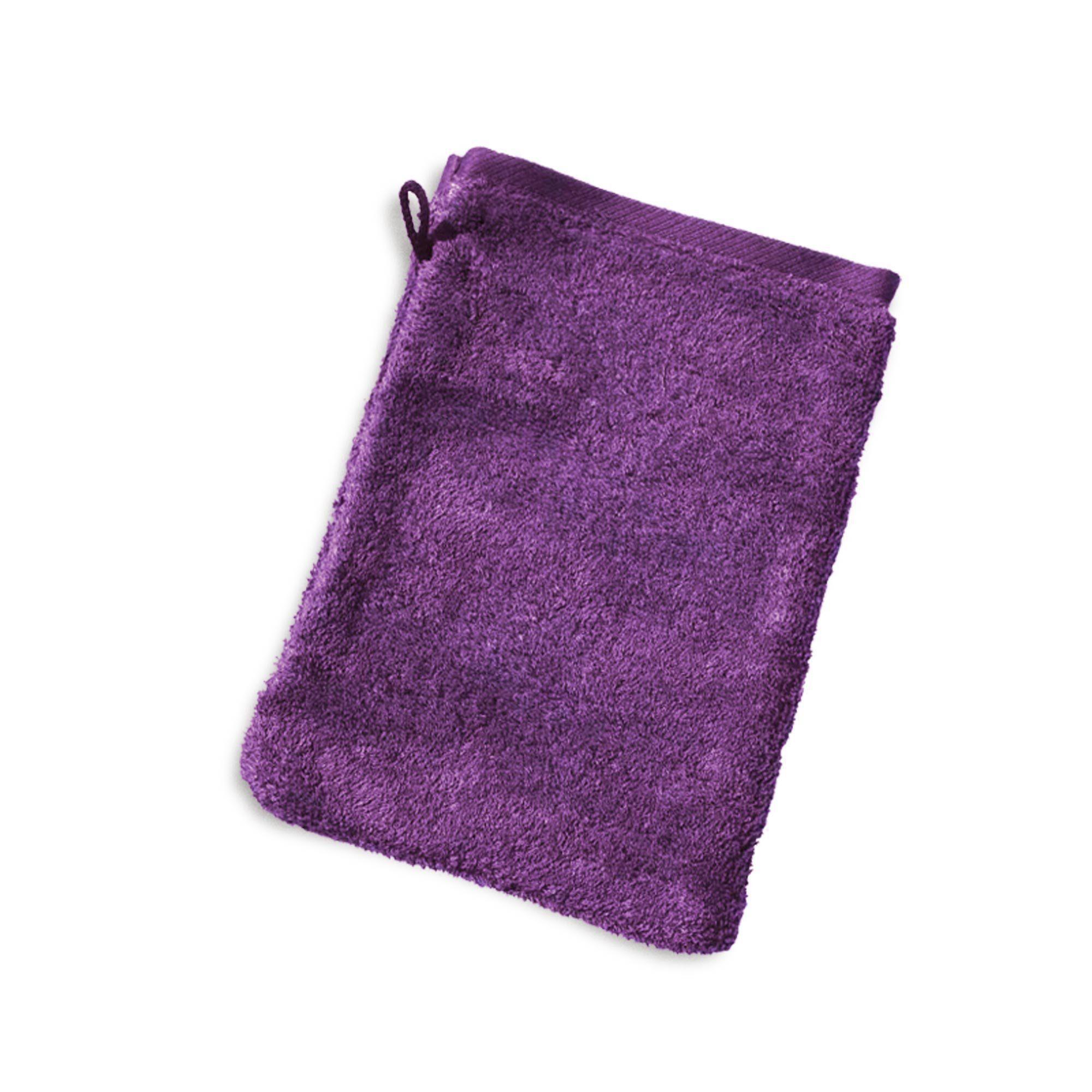 Linnea Gant de toilette 16x21 cm PURE Violet 550 g/m2