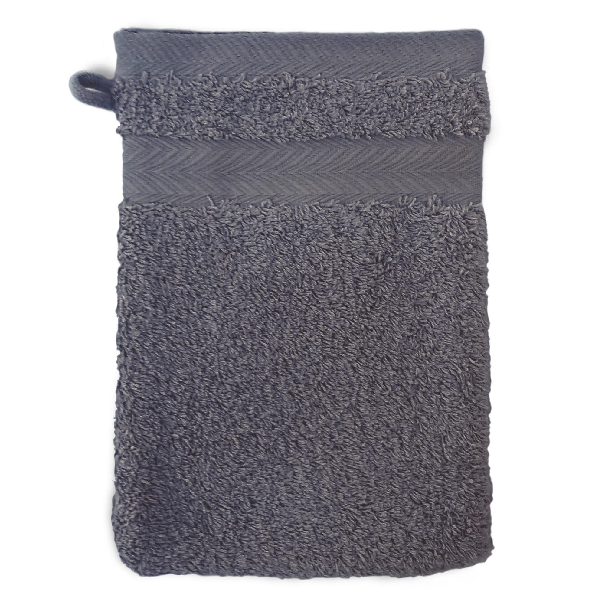 Linnea Gant de toilette 16x21 cm ROYAL CRESENT Acier 650 g/m2