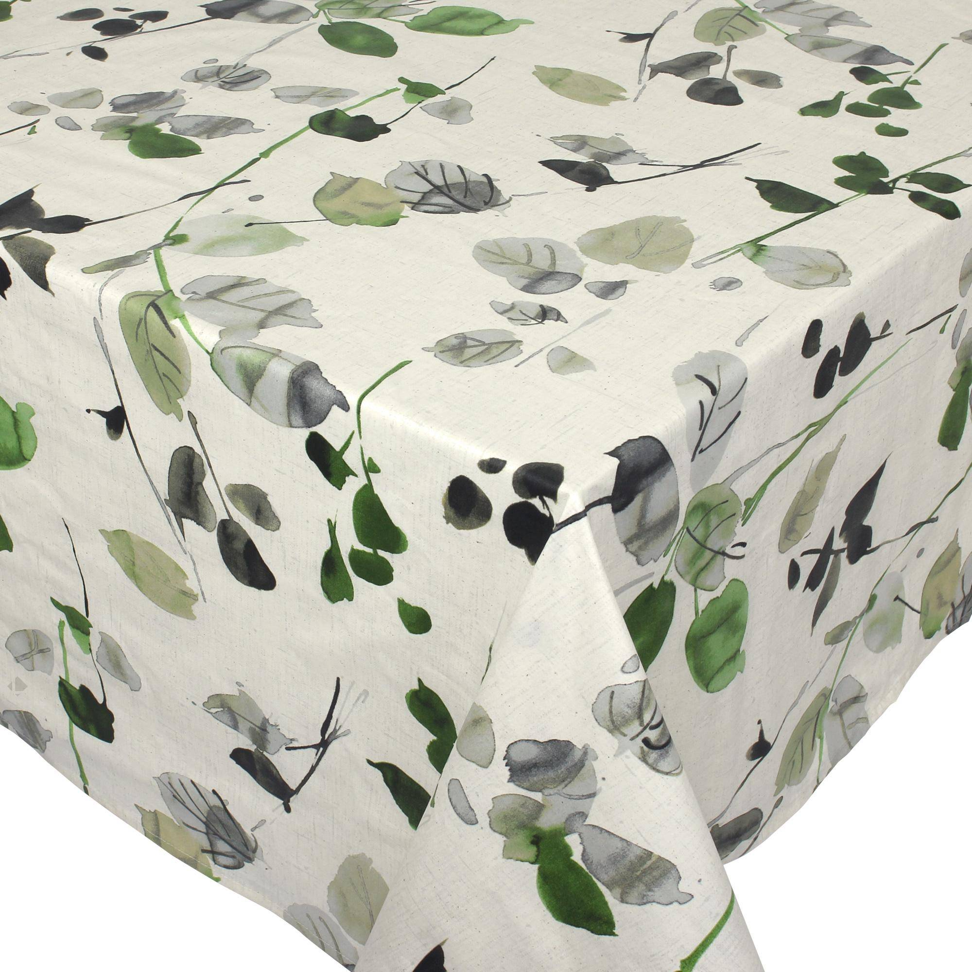 Linnea Nappe carrée 170x170 cm 100% coton enduction acrylique FRENE ecru