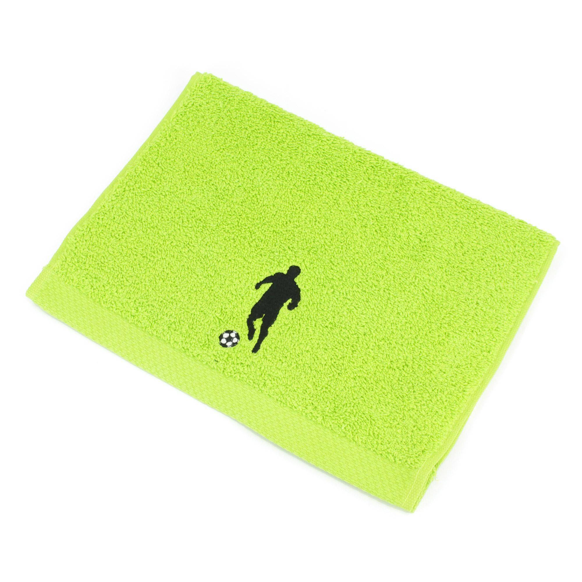 Linnea Serviette invite 33x50 cm 100% coton 550 g/m2 PURE FOOTBALL Vert Pistache