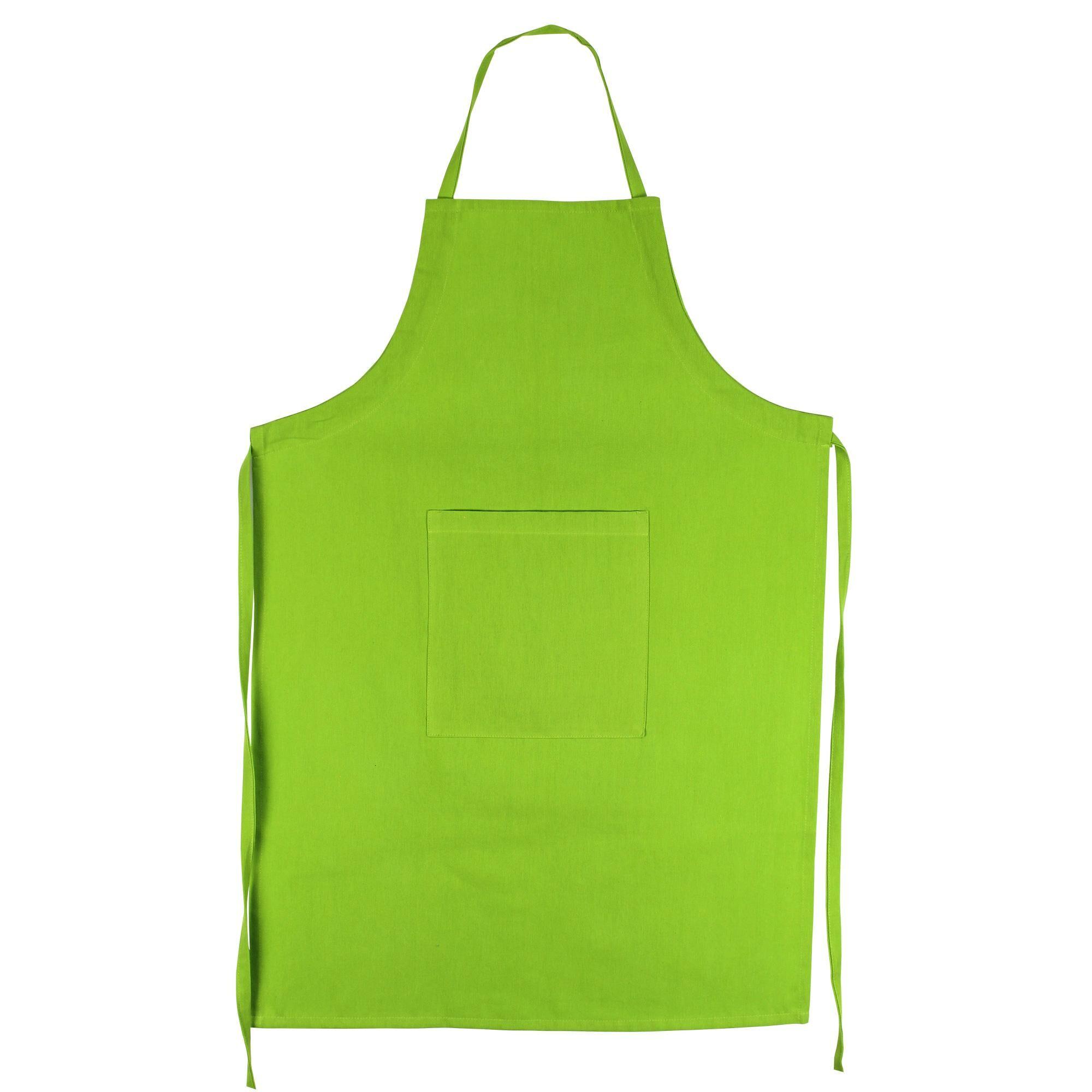 Linnea Tablier de cuisine 60x90 cm toile 100% coton PURE KITCHEN APRON Pistache