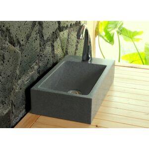 LivingRoc Lave mains en pierre 40x23 granit véritable NEWPORT - Publicité