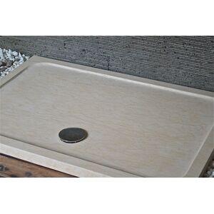 LivingRoc Receveur de douche en marbre d'Égypte 140x90 SPACIUM SUNNY - Publicité