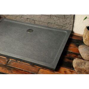 LivingRoc Receveur de douche à l'italienne Granit 140x100 pierre véritable PALM - Publicité