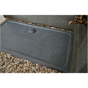 LivingRoc Receveur de douche à l'italienne taillé dans le granit 180x90 DALAOS - Publicité