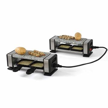 Appareils à raclette 2 personnes reliables 700 W