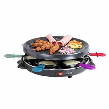 Livoo Appareil à raclette 6 personnes 800 W DOC207 Livoo