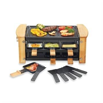 Kitchen Chef Professional Raclette grill 6 poêlons 900 W Kitchen Chef Professional