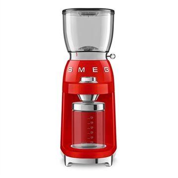 Smeg Broyeur à café rouge 150 W CGF01RDEU Smeg