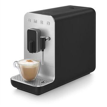Smeg Machine à café avec broyeur et buse vapeur 1350 W BCC02BLMEU noir Smeg