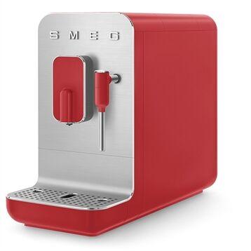Smeg Machine à café avec broyeur et buse vapeur 1350 W BCC02RDMEU rouge Smeg