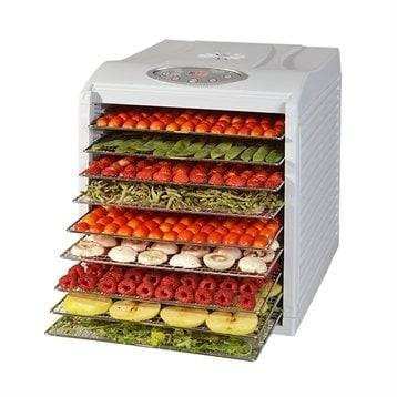 Kitchen Chef Professional Déshydrateur programmable 9 plateaux 500 W KYS-333D Kitchen Chef Professional