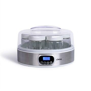 Livoo Yaourtière digitale 7 pots 18 W DOP216 Livoo
