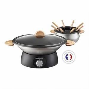 Lagrange Wok et fondue classic 900 W 349019 Lagrange - Publicité