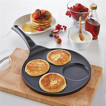 Mathon Poêle 4 blinis ou pancakes à induction Mathon