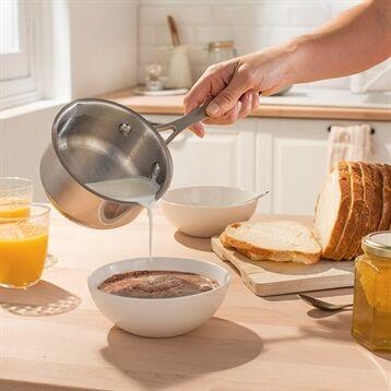 Mathon Petite casserole inox 2 becs verseurs 12 cm Mathon