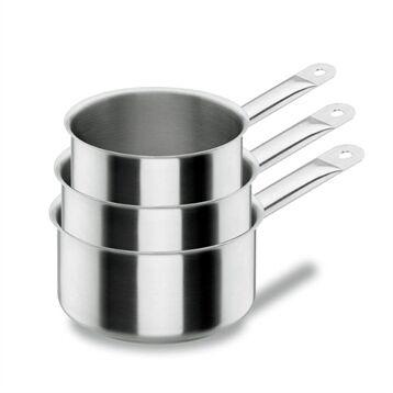 Lacor Lot 3 casseroles 12 14 16 cm Chef classic Lacor