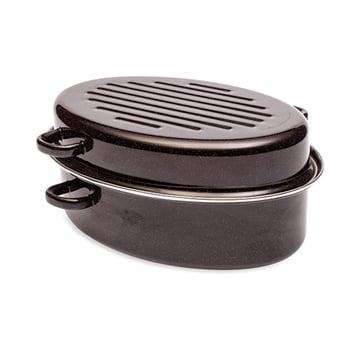 Baumalu Cocotte roaster 38 cm acier émaillé Baumalu