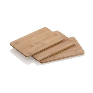 Set de 3 planches à découper en bambou