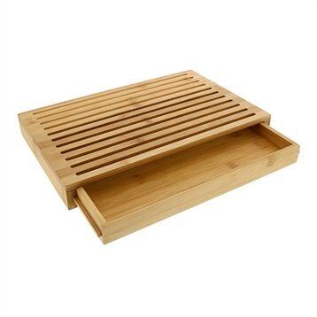 Planche à pain en bambou avec tiroir Pradel Excellence