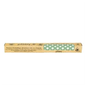 Pebbly Rouleau emballage 1 m cire abeille Pebbly