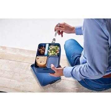 Mepal Boîte à déjeuner bento large bleu glacé Mepal