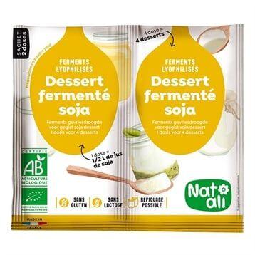 Ferment en poudre pour dessert au soja