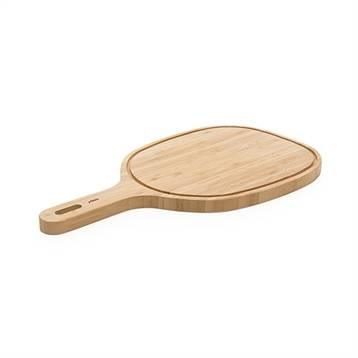 Pebbly Grande planche à découper à poignée bambou 47,5 cm Pebbly
