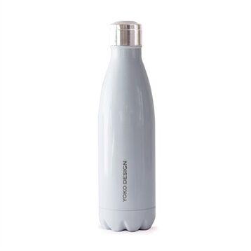 Bouteille isotherme inox 0,5 L blanc Yoko® Design