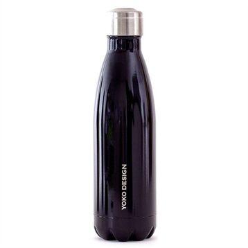 Bouteille isotherme 500 ml noir Yoko® Design