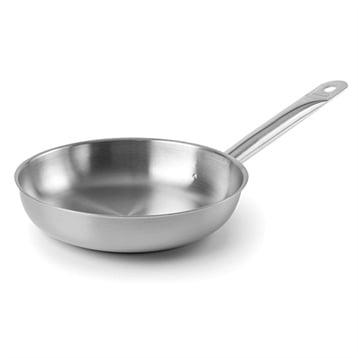 Poêle en inox Chef 24 cm