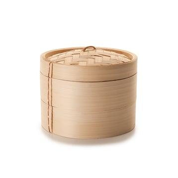 Ibili Cuiseur vapeur bambou 2 niveaux Ibili