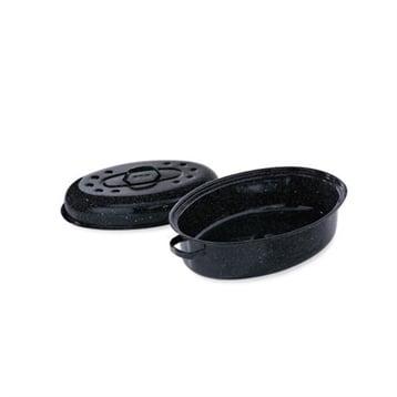 Graniteware Roaster Graniteware 2 4 personnes 29,5 cm Graniteware