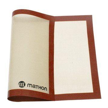 Mathon Grand tapis de cuisson professionnel silicone et fibre de verre 58 cm Mathon