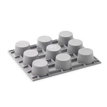 De Buyer Elastomoule 9 mini-muffins De Buyer