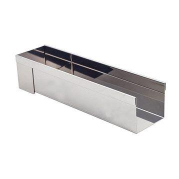 De Buyer Gouttière démontable en inox 30 x 8 cm De Buyer
