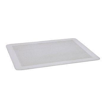 Plaque de cuisson perforée sans rebords en aluminium 30 x 20 cm De Buyer