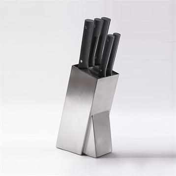 Jean Dubost Bloc universel en inox avec 5 couteaux Mill Pradel Jean Dubost