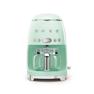 Smeg Machine à café DCF02PGEU vert d'eau Smeg