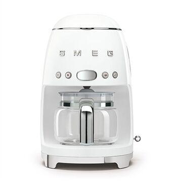 Smeg Machine à café Filtre blanc 1050 W DCF02WHEU Smeg