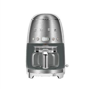 Smeg Machine à café Filtre chrome 1050 W DCF02SSEU Smeg