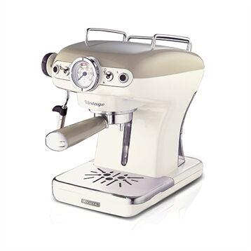 Ariete Machine à café Expresso Vintage 0,9 L 1389 Beige Ariete