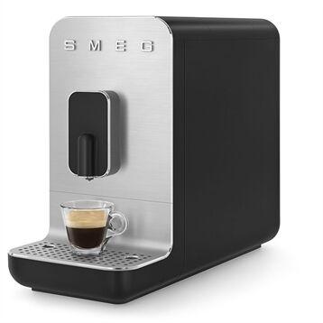 Smeg Machine à café avec broyeur 19 bars BCC01BLMEU noir mat Smeg