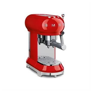 Smeg Machine à café expresso rouge 1 L 1350 W ECF01RDEU Smeg